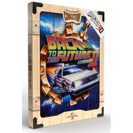 Back to the Future 2 WoodArts 3D Wooden Wall Art It's About