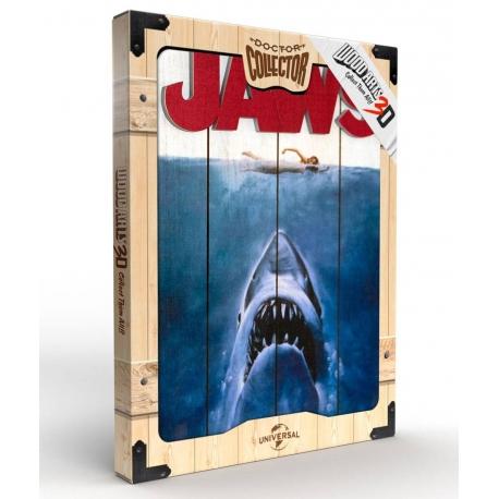 Jaws WoodArts 3D Wooden Wall Art Shark Attack, Jaws
