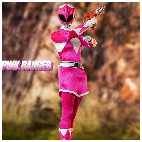 Mighty Morphin Power Rangers FigZero Action Figure 1/6 Pink