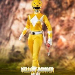 Mighty Morphin Power Rangers Action Figure FigZero 1/6 Yellow Ranger