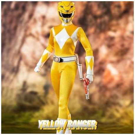 Mighty Morphin Power Rangers Action Figure FigZero 1/6 Yellow