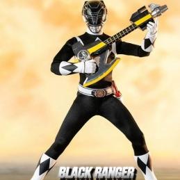 Mighty Morphin Power Rangers Action Figure FigZero 1/6 Black Ranger