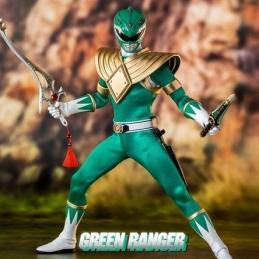 Mighty Morphin Power Rangers Action Figure FigZero 1/6 Green Ranger