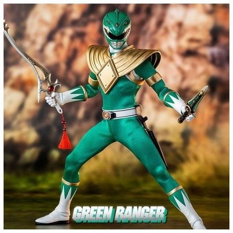 Mighty Morphin Power Rangers Action Figure FigZero 1/6 Green