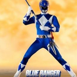 Mighty Morphin Power Rangers Action Figure FigZero 1/6 Blue Ranger