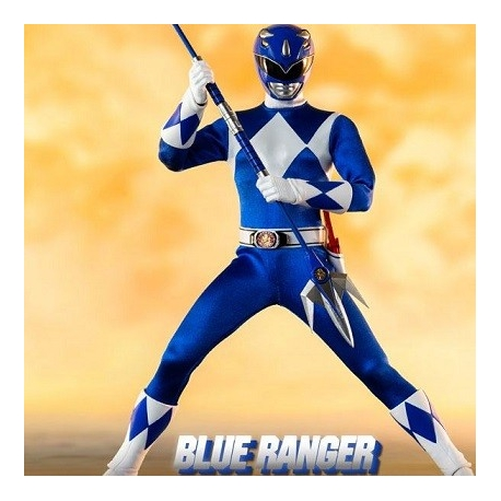 Mighty Morphin Power Rangers Action Figure FigZero 1/6 Blue