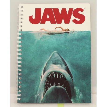 Jaws Note book Movie Poster SD Toys, Jaws