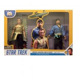 Star Trek Action Figures 2-Pack Mirror Universe Spock & Kirk Mego