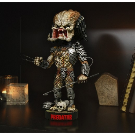 Predator Head Knocker Predator With Spear Neca, Alien/Predator