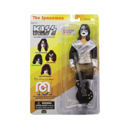 Kiss Action Figure Love Gun Spaceman Mego, Music