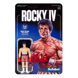 Rocky 4 ReAction Action Figure Rocky (Beat-Up) Super7