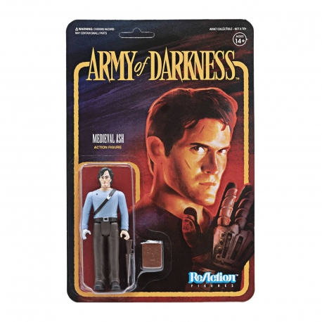 Army of Darkness ReAction Action Figure Medieval Ash Super7