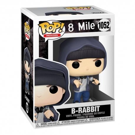 8 Mile POP! Movies Vinyl Action Figure Eminem B-Rabbit, Music