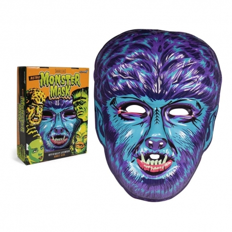 Universal Monsters Mask Wolf Man (Blue) Super7 Halloween