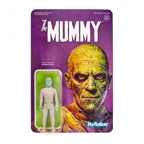 Universal Monsters Action Figure ReAction The Mummy, Universal