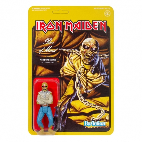 Iron Maiden Action Figure ReAction Piece of Mind (Album
