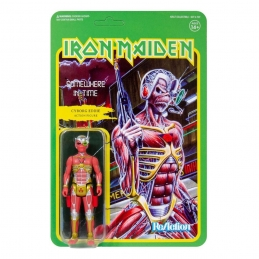 Iron Maiden Action Figure ReAction Somewhere in Time (Album Art)Super7