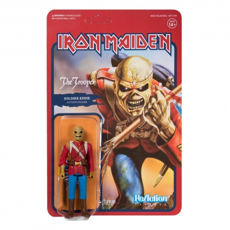 Iron Maiden Figure ReAction The Trooper Super7, IRON MAIDEN