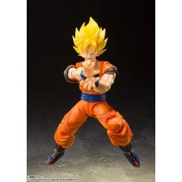 Dragonball Z S.H. Figuarts Action Figure Super Saiyan Full Power Son Goku Tamashii
