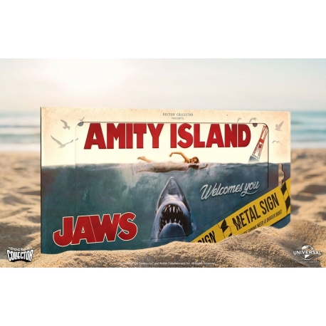 aws Metal Sign Movie Poster Doctor Collector, Jaws