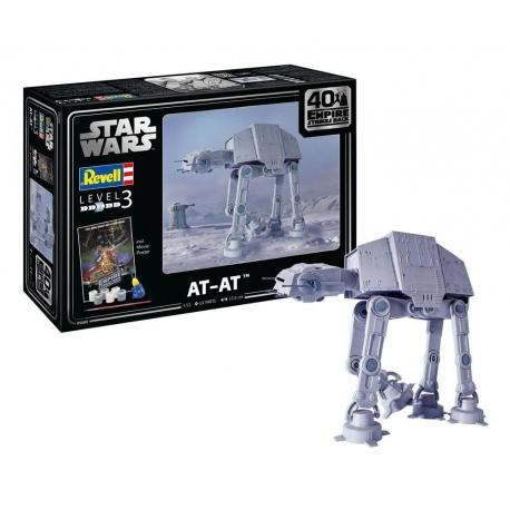 Star Wars Model Kit 1/53 AT-AT - 40th Anniversary Revell, Model