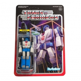 Transformers ReAction Action Figure Wave 2 Mirage Super7