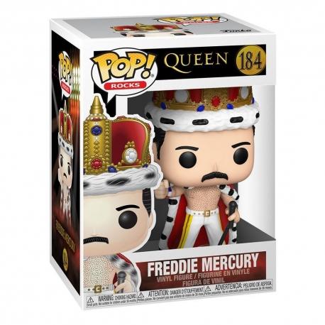 Queen POP N°184! Rocks Vinyl Action FigureFreddie Mercury King