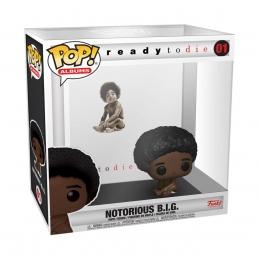 Notorious B.I.G. POP! Albums Vinyl Action Figure Biggie w/Case