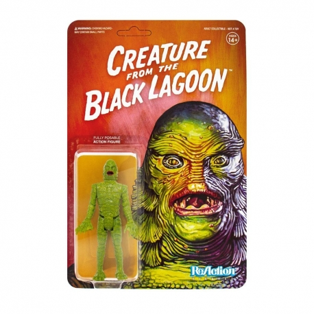 Universal Monsters Action Figure ReAction Creature from the