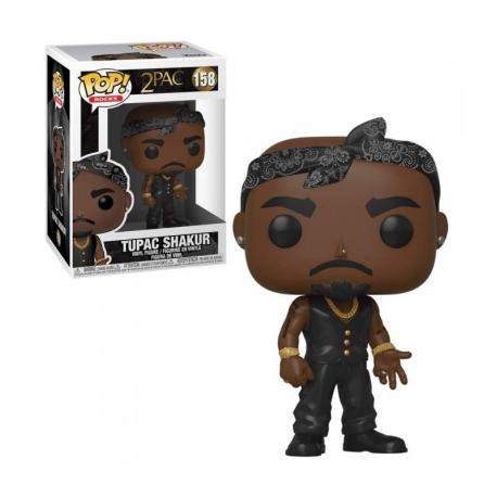 Tupac Shakur POP! Rocks Vinyl Action Figure N°158 Funko, Music