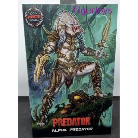 Predator Action Figure Ultimate Alpha Predator 100th Edition