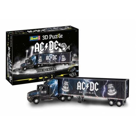 AC/DC 3D Puzzle Truck & Trailer Revell, AC/DC
