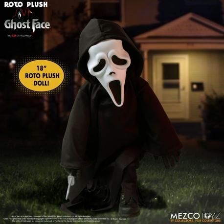 Scream MDS Roto Plush Doll Ghost Face 46 cm Mezco, Living Dead