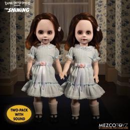 The Shining Living Dead Dolls Talking Grady Twins Mezco