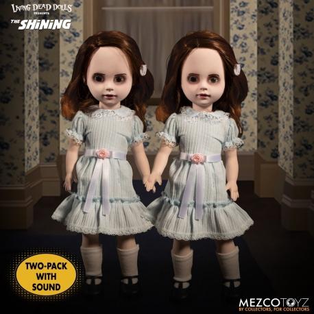 The Shining Living Dead Dolls Talking Grady Twins Mezco, Living