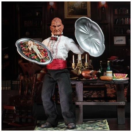 Nightmare On Elm Street 5 Figurine Retro Chef Freddy Neca, A