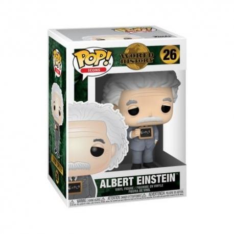 Albert Einstein POP N°26 Icons Vinyl Action Figure Funko, Home