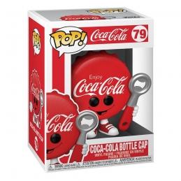 Coca-Cola POP N° 79 Vinyl Action Figure Coca-Cola Bottle Cap Funko