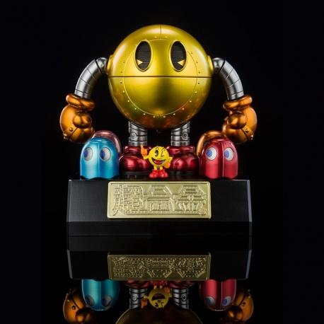 Pac-Man Réplica Diecast Model Chogokin Tamashii Nations, Pac-Man