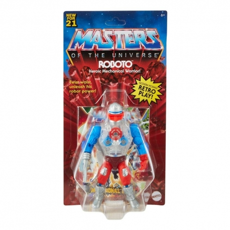 Masters of the Universe Origins 2021 Action Figure Roboto