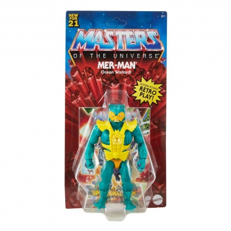 Masters Of The Universe Origins 2021 Action Figure Mer-Man