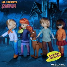 Pack Scooby-Doo: Associated Mysteries Living Dead Dolls Mezco DAMAGED BOX