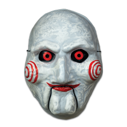 Saw Billy Puppet Vacuform Mask Halloween Trick Or Treat