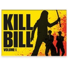 Kill Bill Fight Flat Magnet