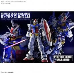 Perferct Grade Gundam RX-78-2 Unleashed 1/60 Bandai, GUNDAM