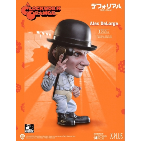 A Clockwork Orange Defo-Real Series Statue Alex DeLarge Star