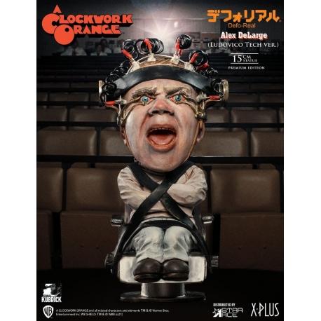A Clockwork Orange Defo-Real Series Statue Alex DeLarge 2