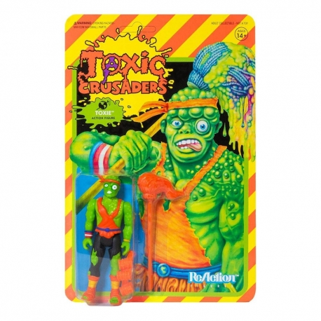 Toxic Crusaders Wave 1 Action Figure ReAction Toxie Super7