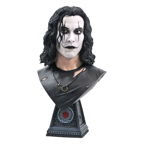 The Crow Legends in 3D Bust 1/2 Eric Draven 25 cm, Cinema