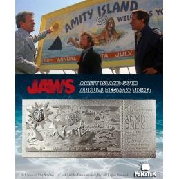 Jaws Replica Regatta Ticket Limited Edition (silver plated)